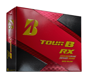 Bridgestone TOUR B RX YELLOW Golf Ball