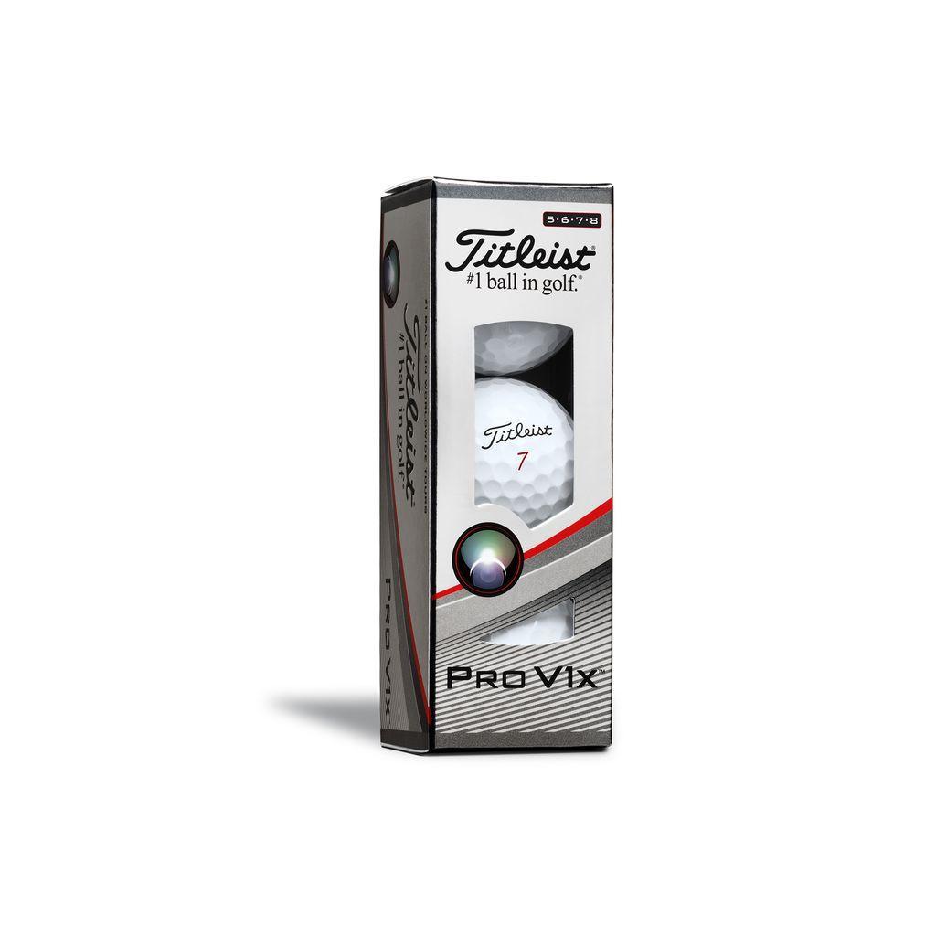 Titleist Pro V1X (HIGH #) Golf Ball